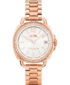 【僾瑪精品】COACH Boyfriend 時尚奢華晶鑽腕錶/34mm/14502644