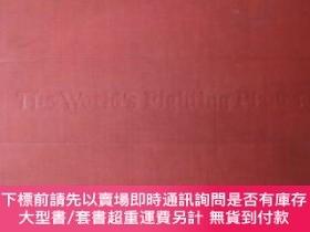 二手書博民逛書店【精裝罕見英文原版】五十 出版的《世界各國戰鬥機圖鑒》the World s Fighting P