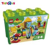 玩具反斗城  樂高 LEGO  DUPLO  10864 大型遊樂場顆粒桶