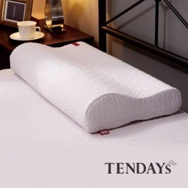 【TENDAYS】柔織舒壓枕(10cm高 記憶枕)買加贈枕用透氣網