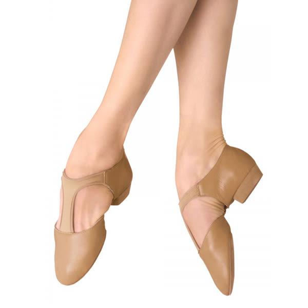 *╮寶琦華Bourdance╭*舞鞋系列☆BLOCH ESO410L - Elastosplit Grecian爵士/教師鞋【80350410】