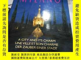 二手書博民逛書店MILANO:A罕見CITY AND ITS CHARM UNE