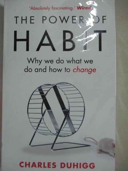 【書寶二手書T1/心理_BAH】The Power of Habit_Charles Duhigg