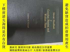 二手書博民逛書店mercer罕見handbook of canadian pension and welfare plansY