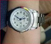 手錶鋼帶男錶石英錶 手錶 雙日歷大數字中老年人錶 韓慕精品