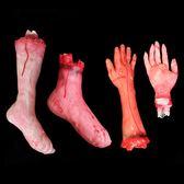 【買一送一】萬圣節裝飾整人道具假手假腳【不二雜貨】