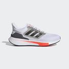 Adidas EQ21 男款 黑白色 透...