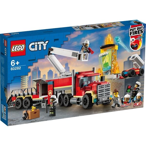 樂高積木Lego 60282 消防指揮車