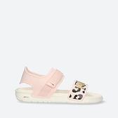 PUMA Softride Sandal Wns Leo 女款粉白色豹紋休閒涼拖鞋-NO.38072202