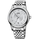 ORIS 豪利時 Classic 日期機械錶-37mm 0173375784031-0781861