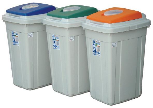 聯府 日式分類附蓋垃圾桶 CL95 CL-95