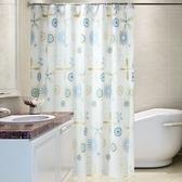 高檔浴簾布加厚防水防霉浴簾布衛生間窗簾 隔斷掛簾套裝 聖誕裝飾8折
