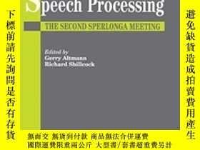二手書博民逛書店Cognitive罕見Models Of Speech Processing-語音處理的認知模型Y436638
