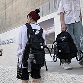 書包女韓版原宿ulzzang高中大學生後背包大容量牛津布背包男潮流 米娜小鋪