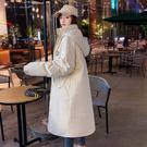 連帽外套 舖棉外套麵包服反季羽絨棉衣棉服女韓版寬鬆冬季外套中長款棉襖2021年新款