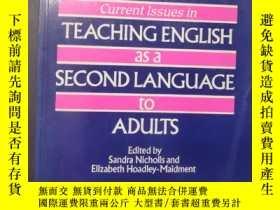 二手書博民逛書店Current罕見lssues in TEACHING ENGL
