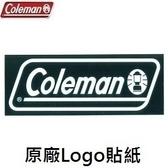 Coleman 美國 原廠貼紙L號 CM-10523M000 配件 裝飾 野餐 露營 風格【易遨遊】