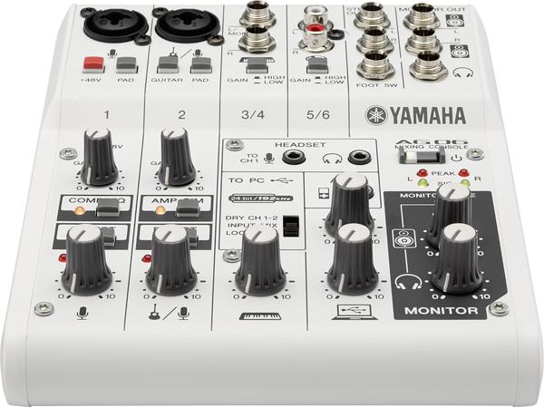 小叮噹的店-YAMAHA 經銷商 AG06 混音器 USB介面 直播 器材 mixer