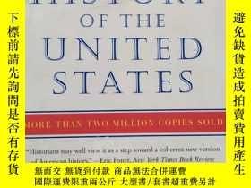 二手書博民逛書店A罕見People s History of the United States:1492 to Present