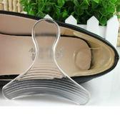 一組二入 T字型 後跟貼矽膠鞋墊 止滑防磨腳 不挑款◆86小舖◆
