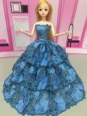 芭比娃娃女孩公主兒童玩具單個裝新娘芭比公主婚紗禮服女生洋娃娃DI