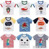 寶寶純棉短袖T恤嬰兒夏季薄款兒童夏裝透氣童裝男女童上衣打底衫『鹿角巷』
