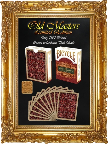 【USPCC撲克】BICYCLE old masters limited edition Playing Cards