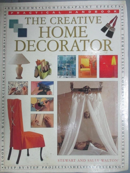 【書寶二手書T3/設計_EW3】CREATIVE HOME DECORATOR_WALTON