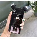 個性創意IPhone 11pro日韓手機套 卡通動漫蘋果11pro Max防摔手機殼  純色情侶款iphone 11保護套