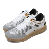 Puma 籃球鞋 Clyde All-Pro Kuzma 白 黑 生膠底 低筒 男鞋 褲子馬【ACS】 19483501