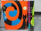 【書寶二手書T4/設計_PDM】是設計系列之形象篇_字體篇_海報篇_直銷篇_共4本合售