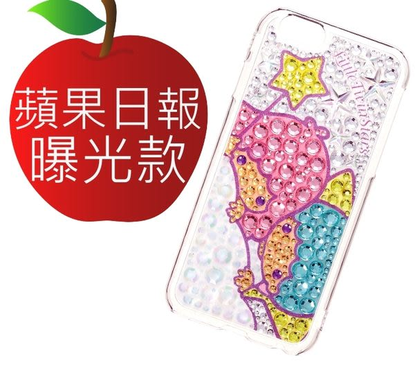 日本 Suncrest Twins Stars iPhone 6/6s 滿鑽保護殼(KIKI & LALA)
