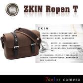 《7color camera》Zkin Ropen T 羅賓T-真皮龐克單眼相機包 ★岩石啡『滿千折百-限時限量』