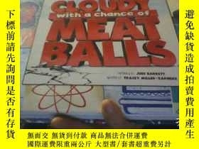 二手書博民逛書店CLOUDY罕見WITH A CHANCE OF MEAT BA
