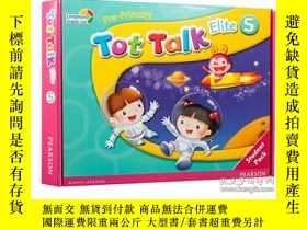 二手書博民逛書店Tot罕見Talk Pack 5朗文英語直通車幼兒教材5 [盒裝