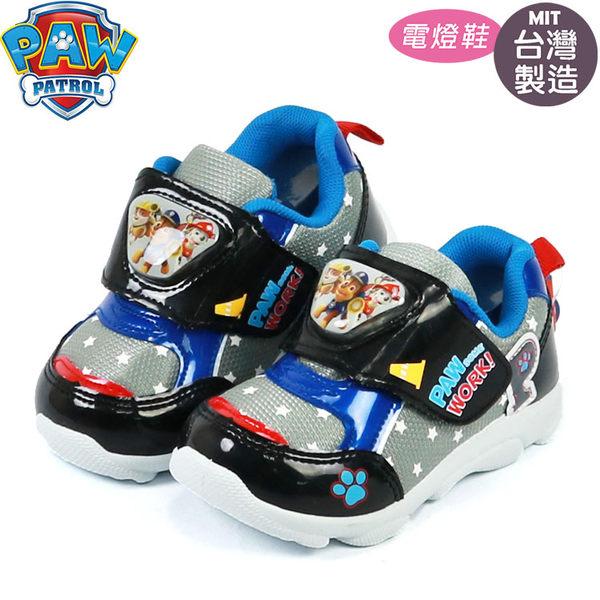 汪汪隊立大功PAW.兒童電燈運動鞋(331544)黑~EMMA商城