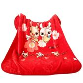 兒童毛毯嬰兒毛毯雙層加厚冬季禮盒初生抱毯兒童蓋毯被子新生寶寶雲毯秋冬 小天使