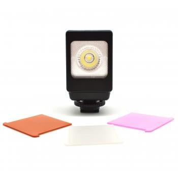 ROWA LED-VL013 【小型補光燈/ 攝影燈 /LED補光燈】附專用充電電池+充電器 【聖影數位】