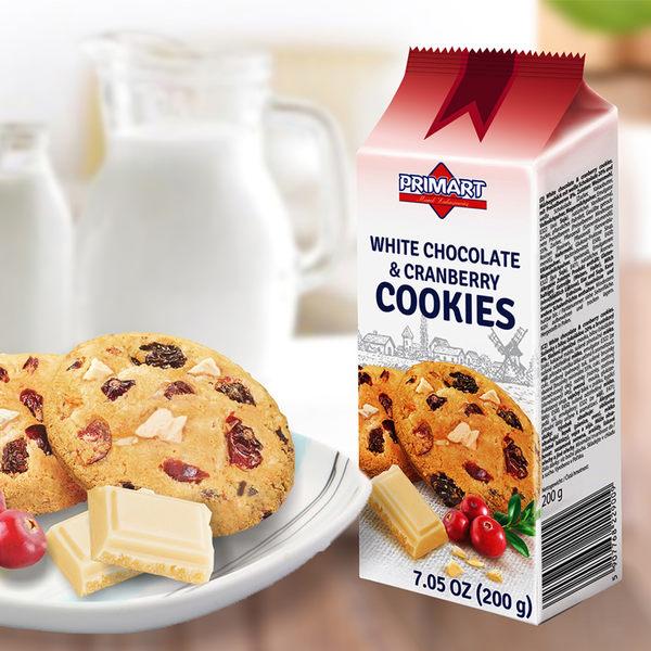 派拉瑪白巧克力蔓越莓餅乾-生活工場