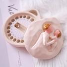 兒童乳牙紀念盒女孩男孩乳牙盒牙齒收藏盒寶寶牙仙子臍帶胎毛保存 夢幻衣都