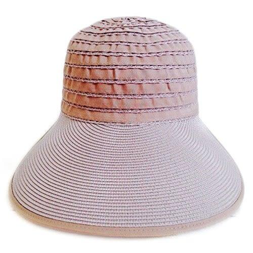 防曬UP!! 台灣製 紙紗編織蕾絲淑女帽