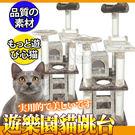 【培菓平價寵物網】寵愛物語doter》居家系列貓跳台-CT19遊樂園貓跳台