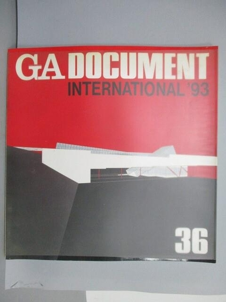 【書寶二手書T8/建築_QAA】GA Document 36