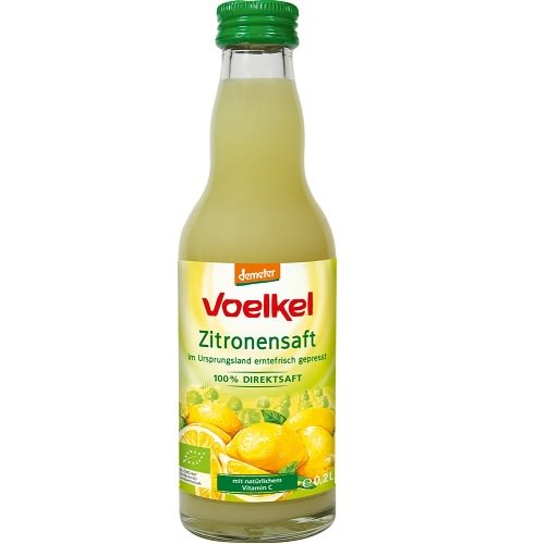 德國Voelkel 有機檸檬原汁(200ml) 原汁100% Demeber 新到貨