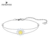 施華洛世奇 Sunshine 玫金色溫暖太陽黃鑽手鏈
