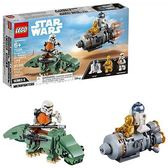 LEGO 樂高  Star Wars: A New Hope Escape Pod vs. Dewback Microfighters 75228 Building Kit , New 2019 (177 Pieces)