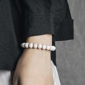 珠子串珠手鍊復古個性文玩佛珠手串情侶手飾/設計家