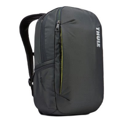 THULE 都樂-Subterra Backpack 23L筆電後背包TSLB-315(忠欣公司貨)-暗灰