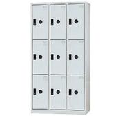 【時尚屋】多用途鋼製門片置物櫃(DF-E5009T)綠色