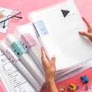A3試卷整理收納袋資料冊分類夾文件夾透明插頁試卷夾【淘夢屋】